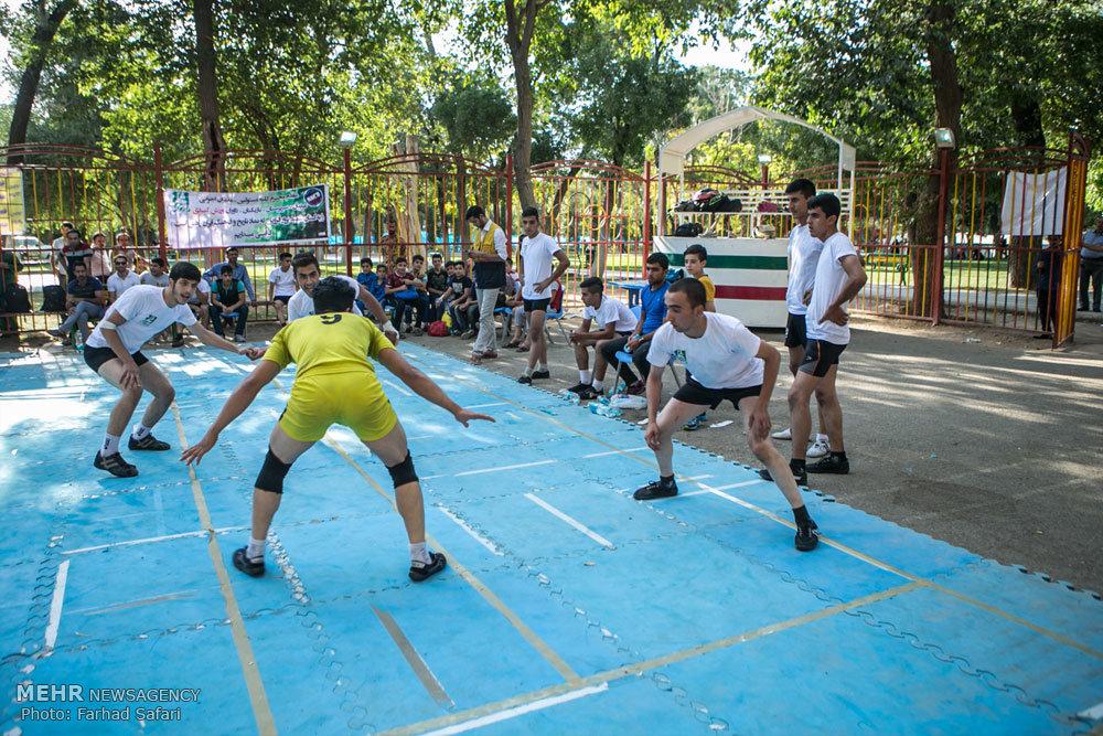 مسابقات کبدی در قزوین