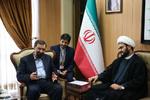 دیدار شیخ اکرم الکعبی با دبیر مجمع تشخیص مصلحت نظام