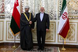 Zarif ve Umman İçişleri Bakanı görüşmesi
