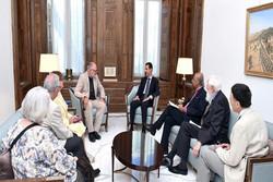 بشار الأسد يؤكد على ضرورة مواجهة ايديولوجيا الإرهاب