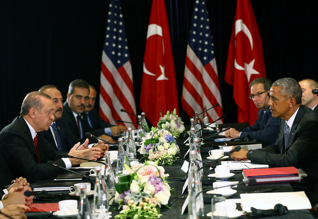 Erdogan urges Obama for unified stance against terror