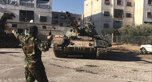 Syrian army liberates strategic areas of military academies in Aleppo