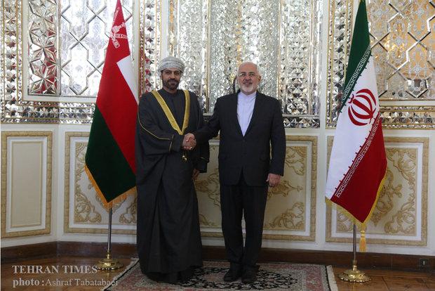 Zarif, Omani interior minister meet in Tehran