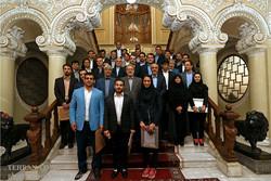 Larijani praises Iranian Olympic medalists