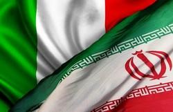 پرچم ایران و ایتالیا