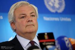 UN under Secretary's presser in Tehran
