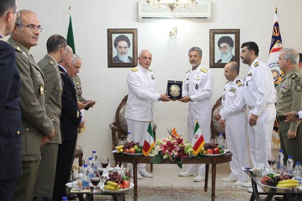 Italian military invites Iran Navy to Italy waters
