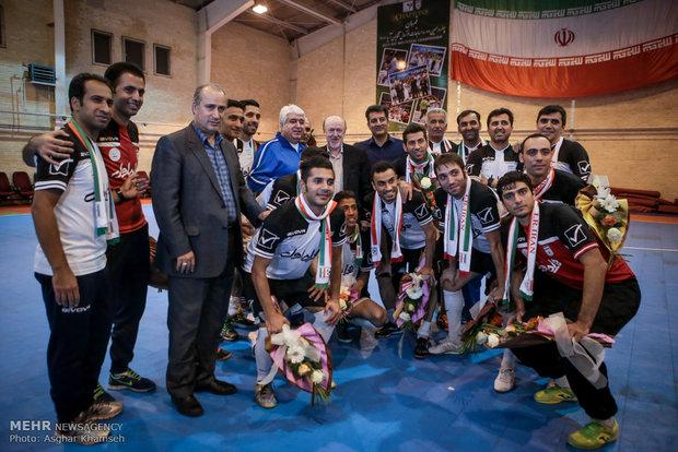 التدريبات النهائية للمنتخب الوطني الايراني لكرة الصالات