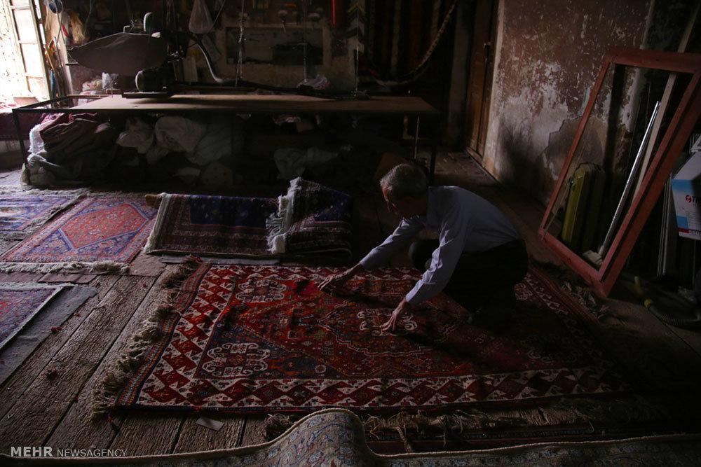 کارگاه مرمت فرش در شیراز