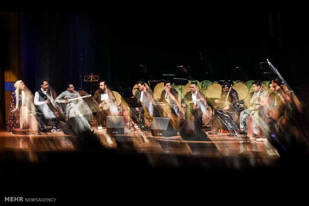 کنسرت موسیقی گروه فروزان