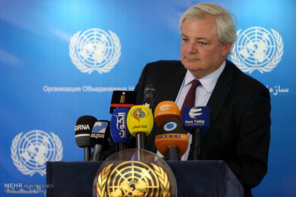 کنفرانس خبری معاون دبیرکل سازمان ملل