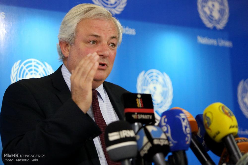 کنفرانس خبری معاون دبیرکل سازمان ملل در تهران