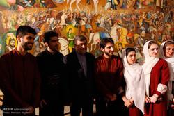 مراسم اختتام مهرجان الفن في ايران