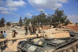 تقدم الجيش السوري في شمال مدينة حماة/فيلم