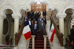 French parliament speaker meets Larijani