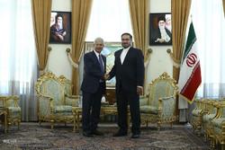 Iran's Shamkhani receives French Bartolone