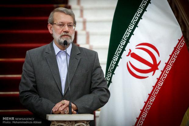 دیدار روسای مجالس ایران و فرانسه