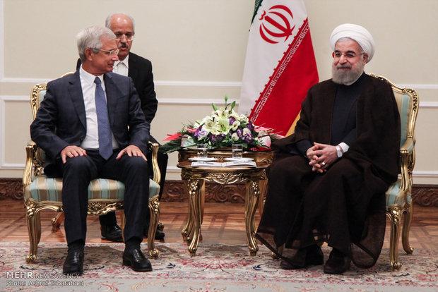 روحاني: إستقرار المنطقة رهن بوقف دعم الارهاب