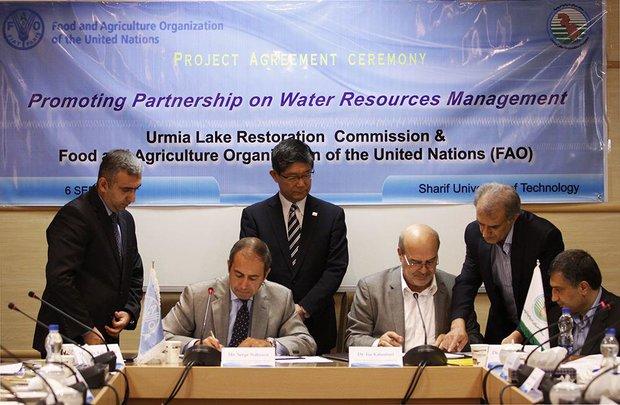 توافقنامه فائو و ایران برای دریاچه ارومیه