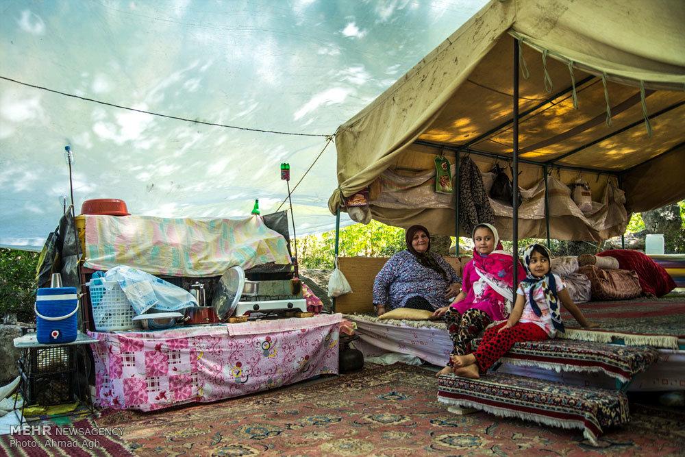 ییلاق اهالی روستای نصرآباد