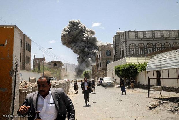 ادامه حملات عربستان به یمن