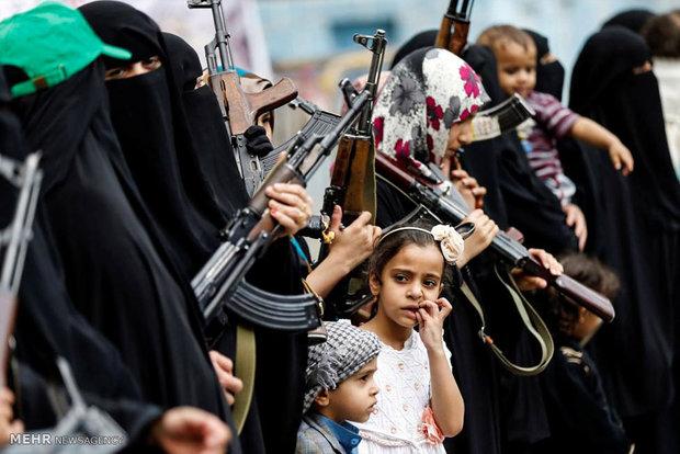 المقاتلات الحوثيات في اليمن