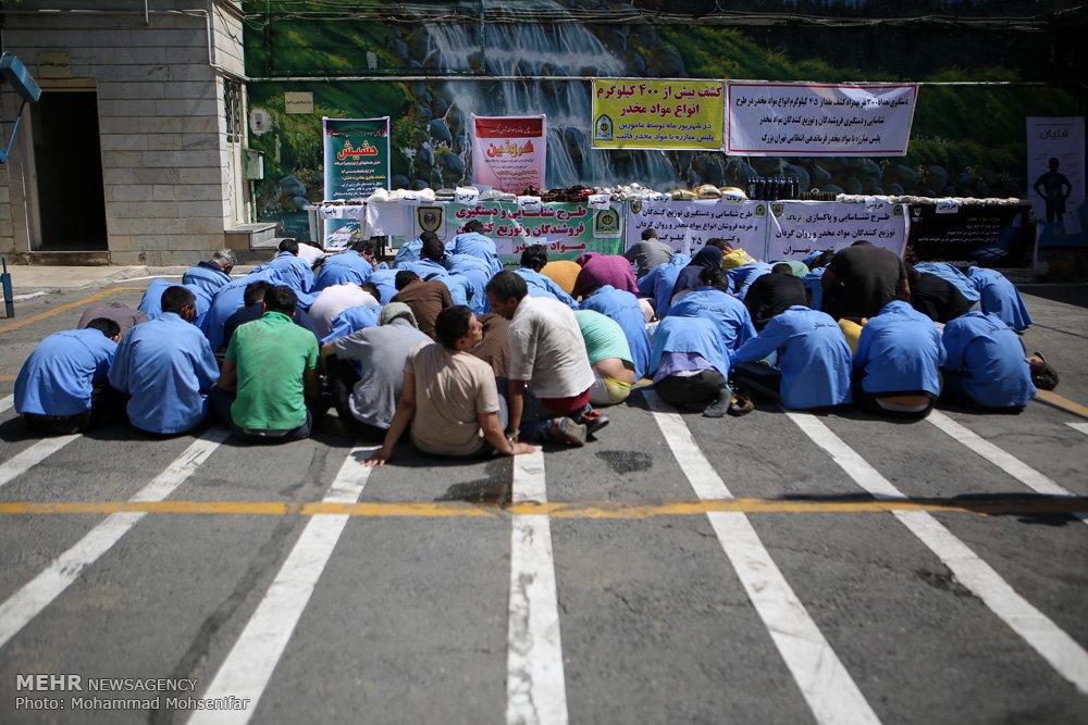 اجرای طرح برخورد با توزیع کنندگان مواد مخدر در پایتخت