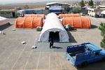 بیمارستان صحرایی تخصصی در روستای محمدصالحی گناوه افتتاح شد