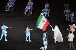 موكب الوفد الايراني المشارك في الدورة  الباراوليمبية  2016