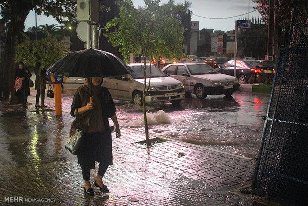 Heavy rain hits northern Iran