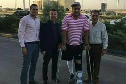 پایان شایعه برای نایب قهرمان المپیک لندن/ حدادی به کشور بازگشت