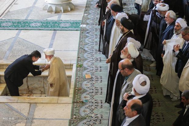 اقامه نماز جمعه تهران