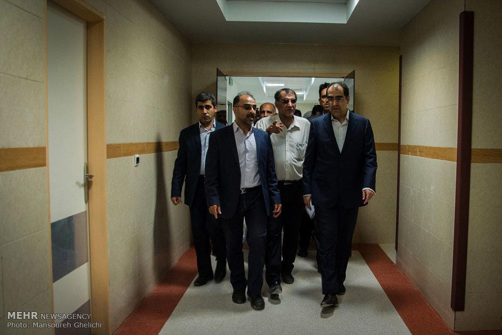 سفر وزیر بهداشت، درمان و آموزش پزشکی به شاهرود