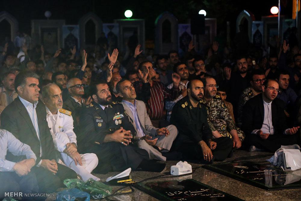 دومین یادواره شهدای گمنام و جاویدالاثر در نوشهر