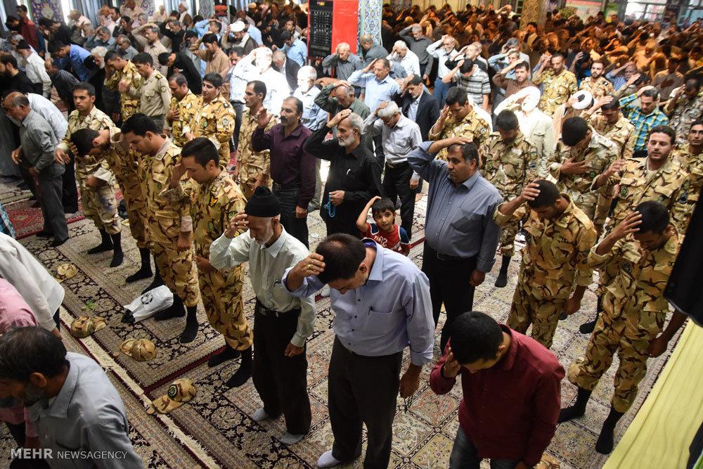 راهپیمایی محکومیت جنایات آل سعود وآل خلیفه در شهرضا