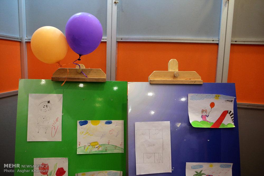 """فستیوال نقاشی کودکان """" دست های مهربان """""""