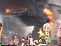بنگلہ دیش میں فیکٹری میں آگ لگنے سے10 افراد ہلاک