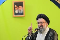 آیت الله خاتمی در نماز جمعه تهران