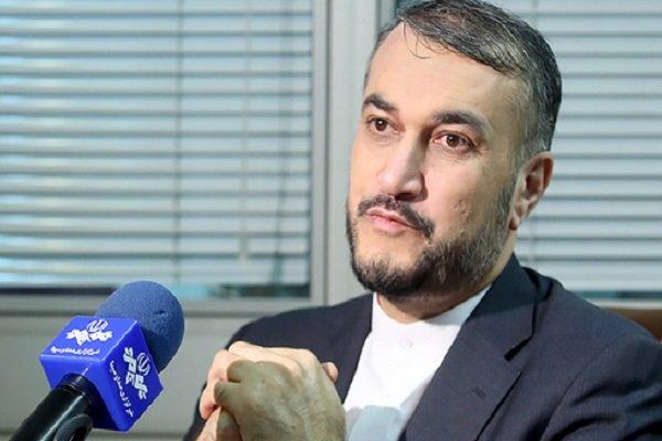 عبداللهيان: بث الفرقة والخلاف بين الدول الإسلامية يصب في مصلحة اسرائيل