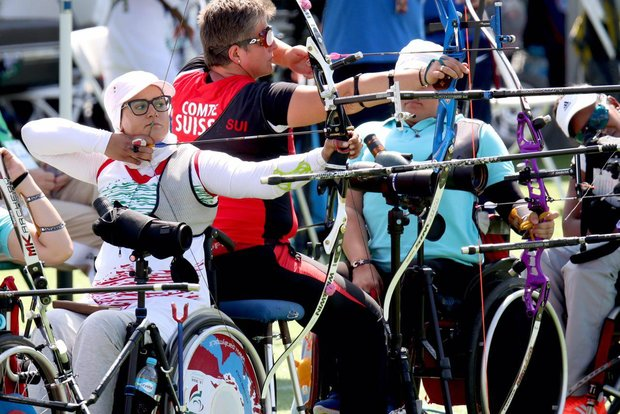 Zahra Nemati wins gold at 2017 World Archery Para C'ships