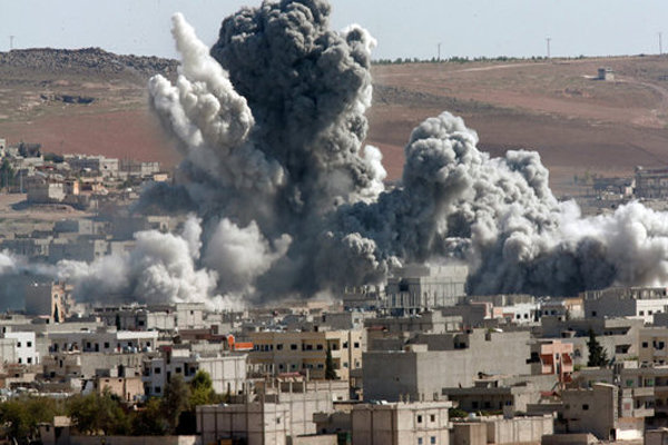 Russian jets kill over 200 IS militants near Syria's Deir al-Zor