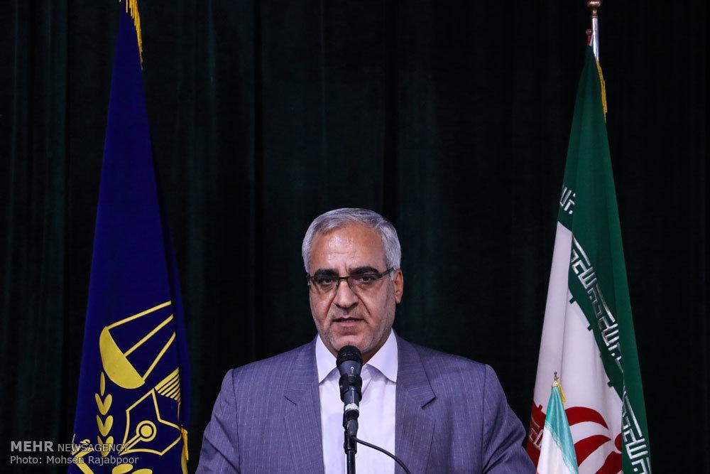 مراسم تکریم و معارفه مدیرکل زندان های استان کرمان