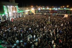شب اول مراسم مسلمیه در حرم حضرت عبدالعظیم حسنی(ع) برگزار شد