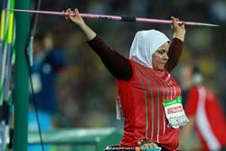 «هاشمیه متقیان» ۲ متر رکورد آسیا را ارتقا داد