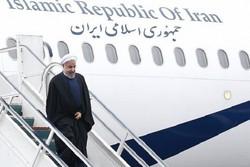 الرئيس روحاني يبدأ جولة تفقدية لمحافظة خوزستان
