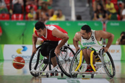 الأسبوع الأول لبطولة كرة السلة على الكراسي المتحركة في ايران