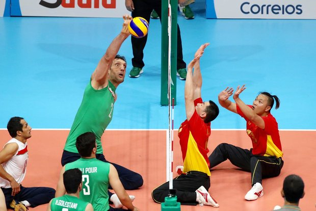 National Sitting volleyball team trounces China