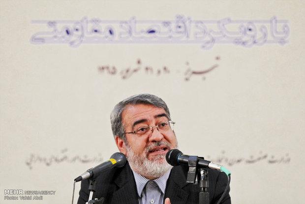 وزیر کشور فردا از زیرساخت های مرز مهران بازدید می کند