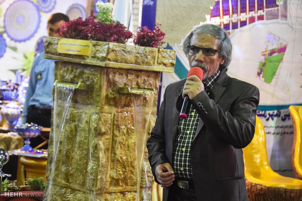 افتتاح نمایشگاه چلچراغ هنر در شهرضا