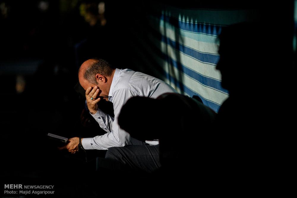 دعای عرفه در مزار شهدای بهشت زهرا(س)